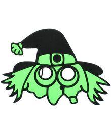 Funcart Spooky Halloween Eye Mask - Green