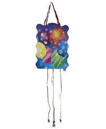 Funcart Pull String Pinata - Multicolor