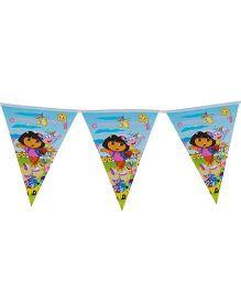 Funcart Dora Flag Banner Blue - 12 Pieces