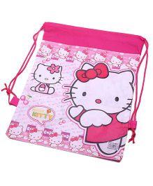Funcart Hello Kitty Drawstring Bag - Pink