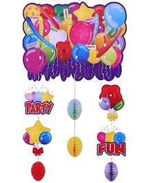 Funcart Party And Fun Hanging Decoration With - Multicolor