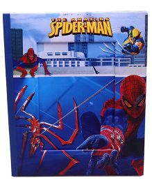 Spiderman Photo Frame - Blue