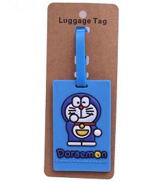 Funcart Doraemon Luggage Tag - Blue