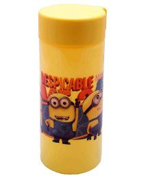 Minions Unbreakable Water Bottle - Yellow
