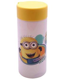 Funcart Minions Unbreakable Water Bottle - White
