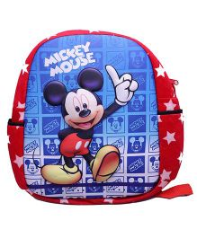 Disney Mickey Mouse 3D School Bag Red Blue