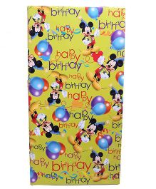 Disney Mickey Mouse Gift Wrapping Paper - Pack Of 10