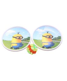 Funcart Cartoon Dish Ball Game With Led Ball - Yellow