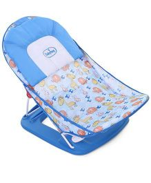 Babyhug Bubble Joy Deluxe Baby Bather-  Blue