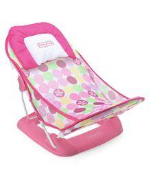 Babyhug Bubble Joy Deluxe Baby Bather - Pink