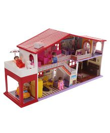 Toyzone My Deluxe Doll House Play Set  Multi Color 50 Pieces