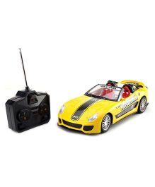 Kumar Toys Fast Furious Remote Controlled Racing Car - Yellow