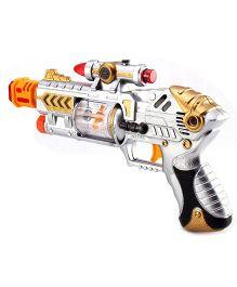 Kumar Toys Laser And Sound Gun - Grey