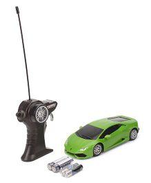 Maisto Lamborghini Huracan LP 610-4 Radio Control Toy Car - Green