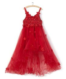 Whitehenz Clothing Tutu Floral Dress - Red