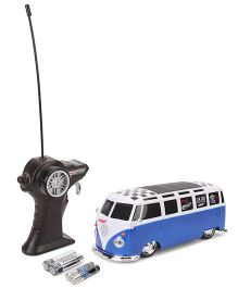 Maisto Radio Controlled Volkswagon Van Samba - White & Blue