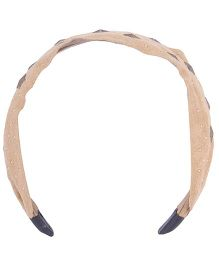 Cutecumber Partywear Hair Band - Brown