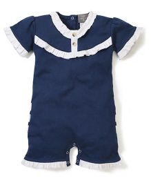 Kate Quinn Romper - Navy Blue