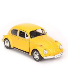 RMZ Die Cast Volkswagen Beetle Car Toy - Yellow
