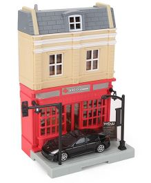 RMZ Diorama Steak House Set - Multicolor