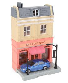 RMZ Diorama Book Store Set - Multicolor