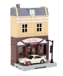 RMZ Diorama Cafe House Set - Multicolor