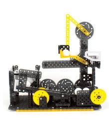Hexbug Vex Fork Lift Ball Construction Set Black And Yellow - 270 Plus Pieces