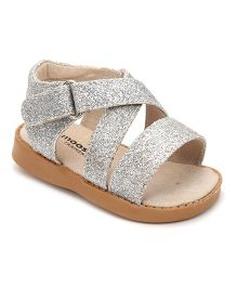 Mooshu Trainers Sparkle Baby Sandal - Silver