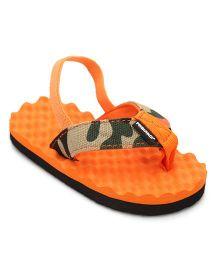 Fresko Baby Shoes With Strap - Orange