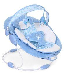 Mastela Comfort Surround System Cradling Floral Print - Blue