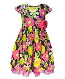 Pspeaches Floral Print Dress - Multicolour