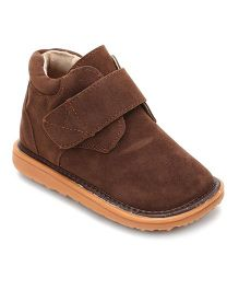 Mooshu Trainers Classy Pair Of Shoes - Chocolate Brown