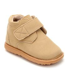 Mooshu Trainers Classy Pair Of Shoes - Tan Beige