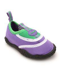 Fresko Attractive Pair Of Shoes - Purple & Green