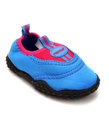 Fresko Attractive Pair Of Shoes - Blue & Fuchsia Pink