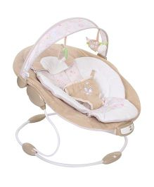 Mastela Comfort Surround System Cradling Butterfly Embroidery - Brown & White