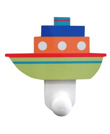 Nidokido Ship Design Wall Hook - Multi Color