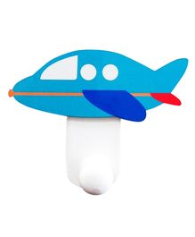 Nidokido Aeroplane Shape Wall Hook - Multi Color
