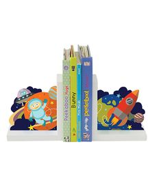 Nidokido Space Bookends - Multicolor