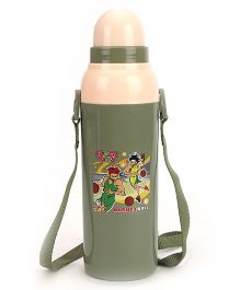Cello Homeware Cool Wiz Insulated Water Bottle Super Kids Print - 600 ml