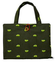 Kadambaby Kids Art Bag - Green