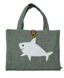 Kadambaby Kids Travel Art Organiser Under The Sea Theme Bag - Grey