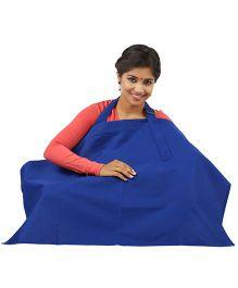 Lulamom Nursing Cover - Blue