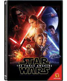 Star Wars The Force Awakens Movie DVD - English
