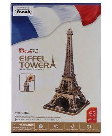 CubicFun Eiffel Tower France Puzzle Multicolor - 82 Pieces
