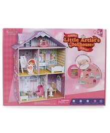 CubicFun Little Artist's Dollhouse Puzzle Multicolor - 60 Pieces