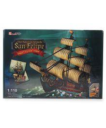 CubicFun The San Felipe Puzzle Multicolor - 248 Pieces