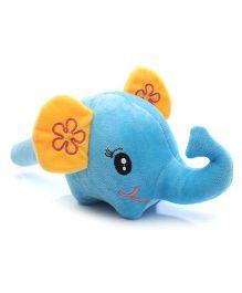 Musical Soft Toy Hammer Elephant Face Design - Blue