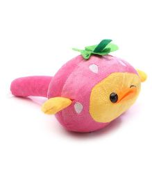 Musical Soft Toy Hammer Duck Face Design - Pink & Yellow