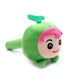 Musical Soft Toy Hammer - Green & Pink